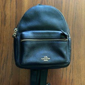Coach Mini Leather Backpack